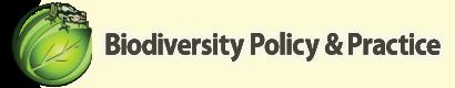Biodiversity Policy & Practice