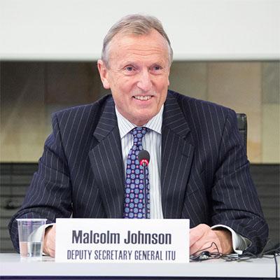 Malcolm Johnson, ITU Deputy Secretary-General
