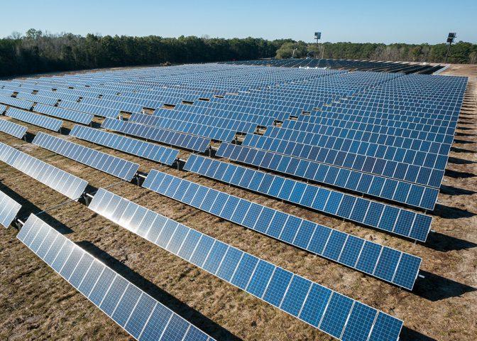 Solar Farm, US. Credit: American Public Power Association